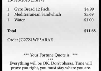 fortune receipt pos